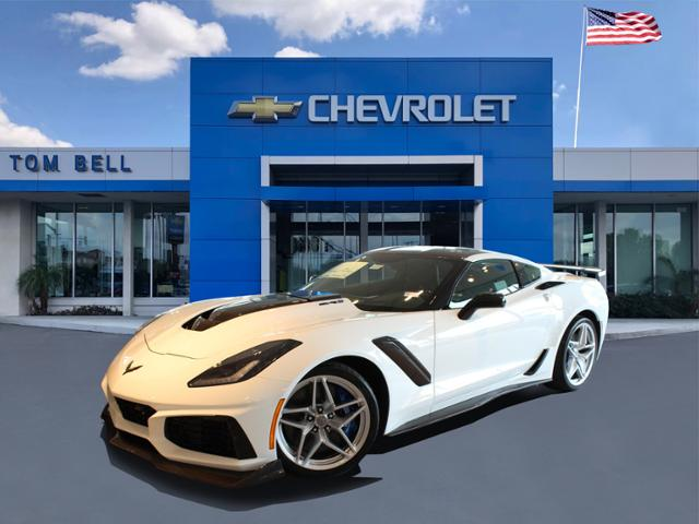 New 2019 Chevrolet Corvette Zr1 3zr Rwd 2dr Car