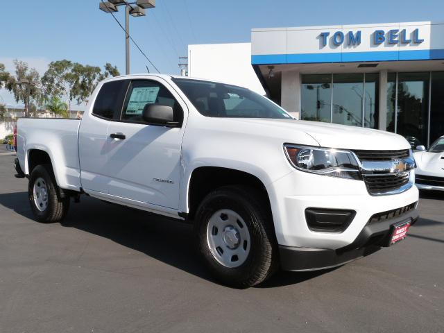 New 2018 Chevrolet Colorado 2wd Work Truck Extended Cab