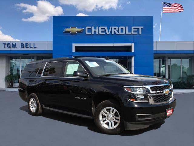 Pre Owned Suburban >> Certified Pre Owned 2018 Chevrolet Suburban Lt Four Wheel Drive 4wd 4dr 1500 Lt