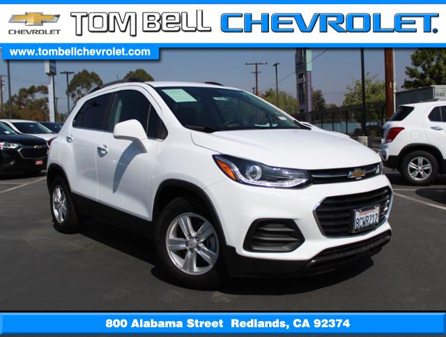 New 2018 Chevrolet Trax Lt Sport Utility In Redlands N180664 Tom
