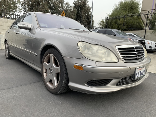 Pre-Owned 2003 Mercedes-Benz S-Class 4.3L